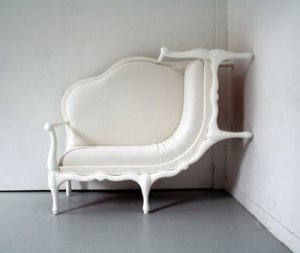 Alice in Wonderland sofa