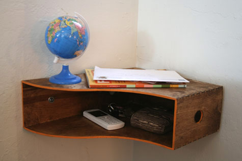 DIY shelf Ikea Hack