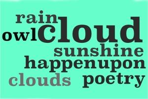 tag cloud poetry