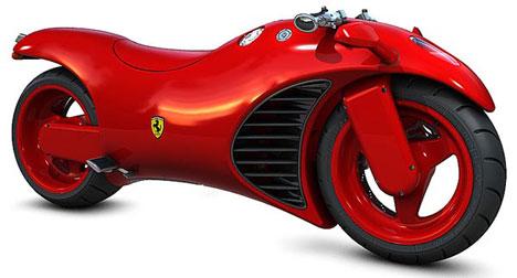 Ferrari motorbike concept – brmm brmm